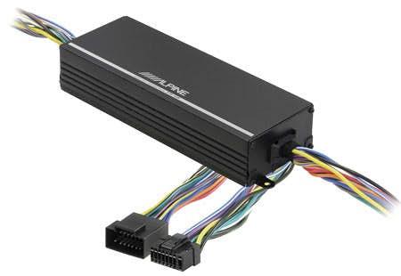 Ojačevalec Alpine KTP-445A (4x100W, adapter)