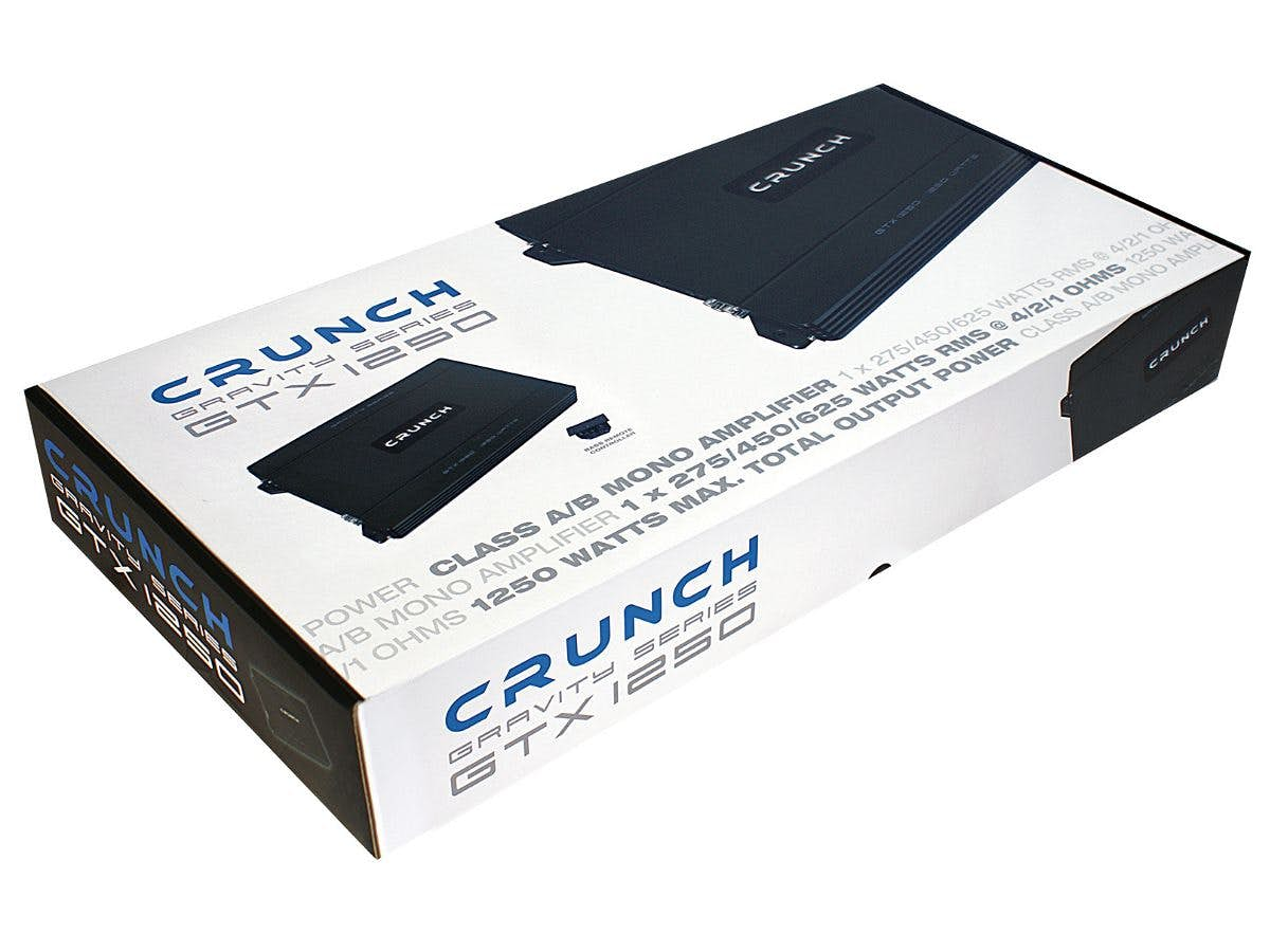 Avtoojačevalec Crunch GTX 1250 (1-kanalni)
