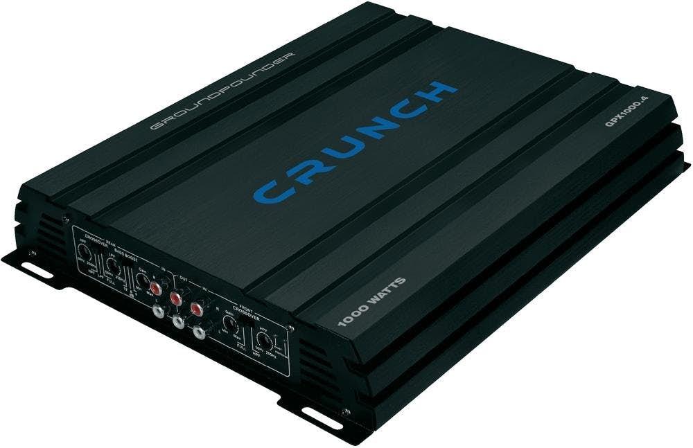 Avtoojačevalec Crunch GPX 1000.4 (4-kanalni)