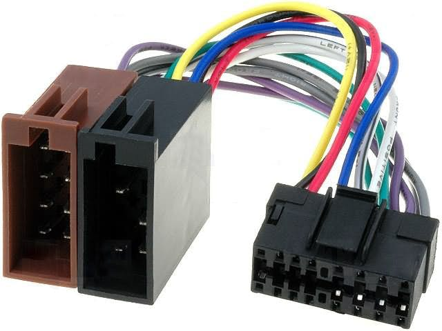 JVC ISO konektor 2 - 16 pin