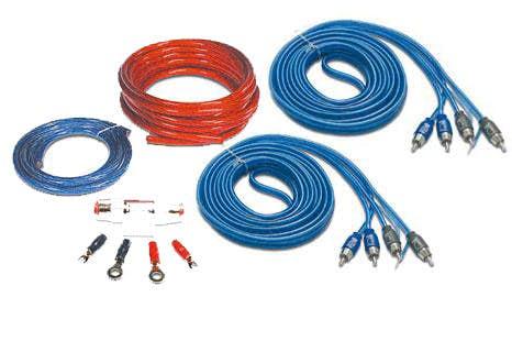 Komplet kablov 50 mm2 (za 4-kanalne ojačevalce)