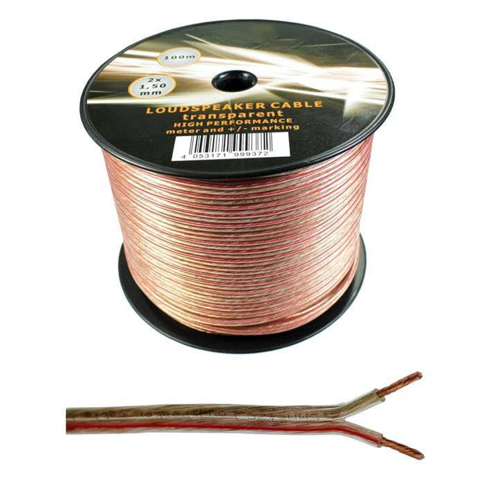 Zvočniški kabel 2 x 1,5 mm