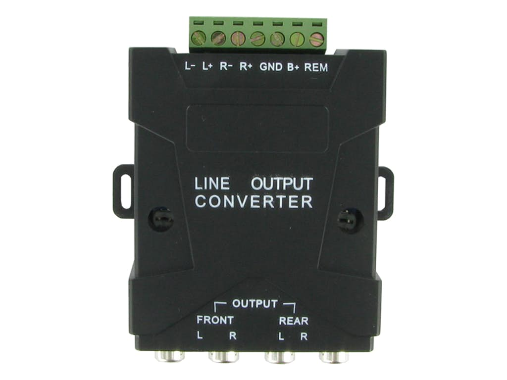 High - Low adapter z remote (4-kanalni)