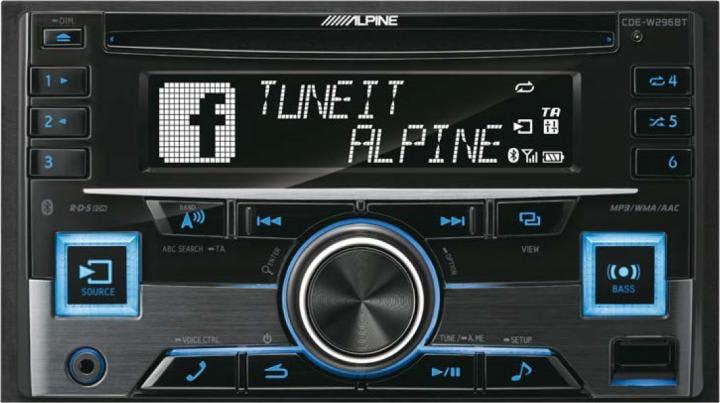 Avtoradio Alpine CDE-W296BT