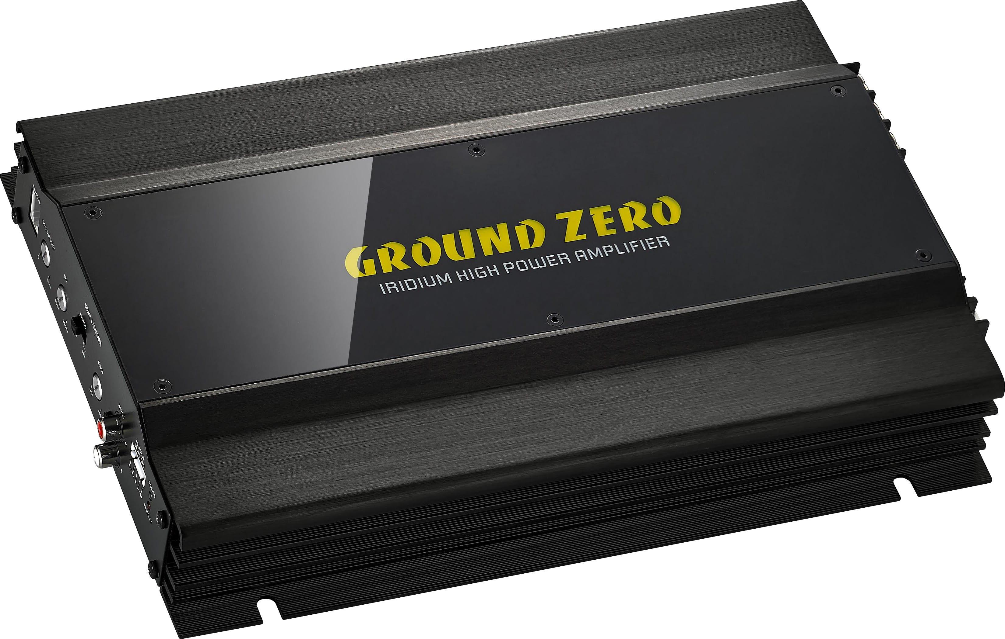 Avtoojačevalec Ground Zero GZIA 1.1000DX (1-kanalni)