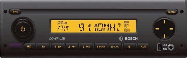 Avtoradio Bosch Dover USB 40 (24 V)