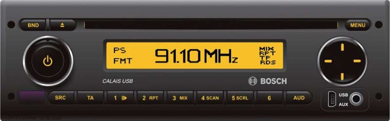 Avtoradio Bosch Calais USB 40 (24 V)