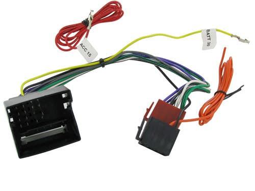 ISO konektor za Volkswagen Sharan (2011 -)