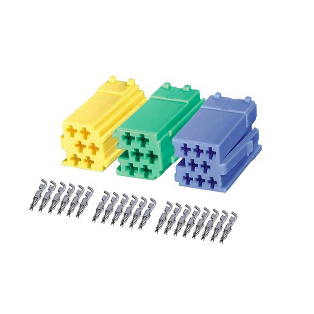 Mini ISO konektorji C1, C2, C3