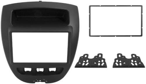 Maska za Citroen C1 (2-DIN, 2005 - 2014)