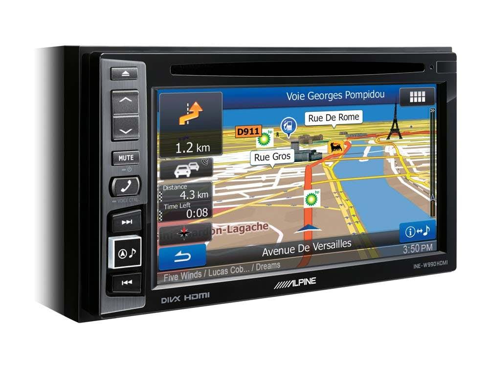 Navigacijska enota Alpine INE-W990HDMI