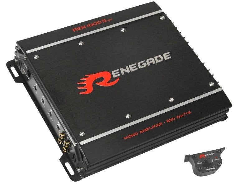 Avtoojačevalec Renegade REN 1000S (1-kanalni)