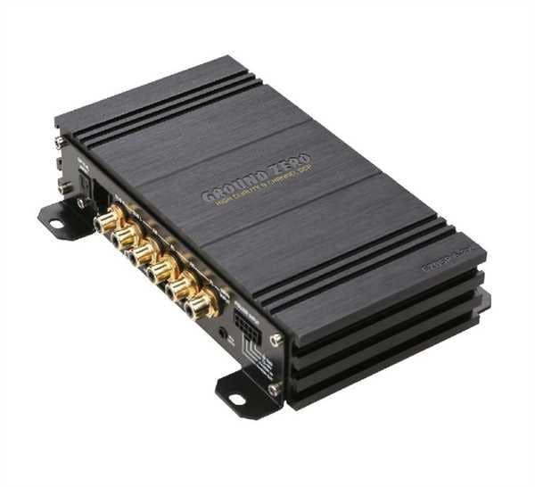 Zvočni procesor Ground Zero GZDSP 6-8X
