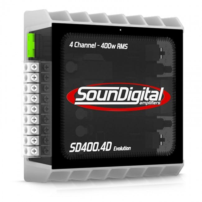 Avtoojačevalec SounDigital SD 400.4 Evolution (4-kanalni)