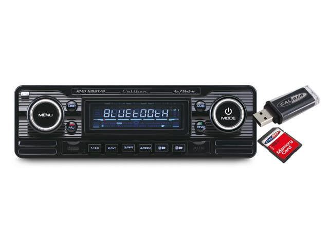 Avtoradio Caliber RMD 120BT/B