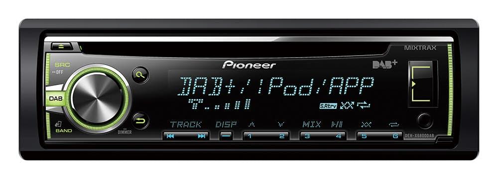 Avtoradio Pioneer DEH-X6800DAB (z DAB/DAB+)