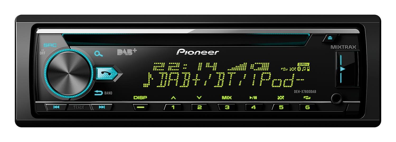Avtoradio Pioneer DEH-X7800DAB (z DAB/DAB+)