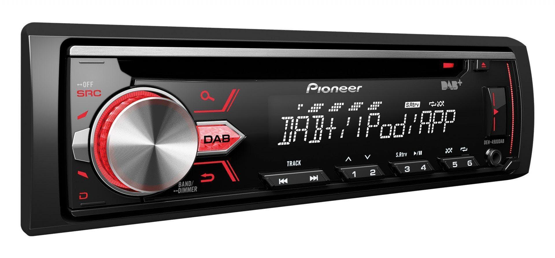 Avtoradio Pioneer DEH-4900DAB  (z DAB/DAB+)