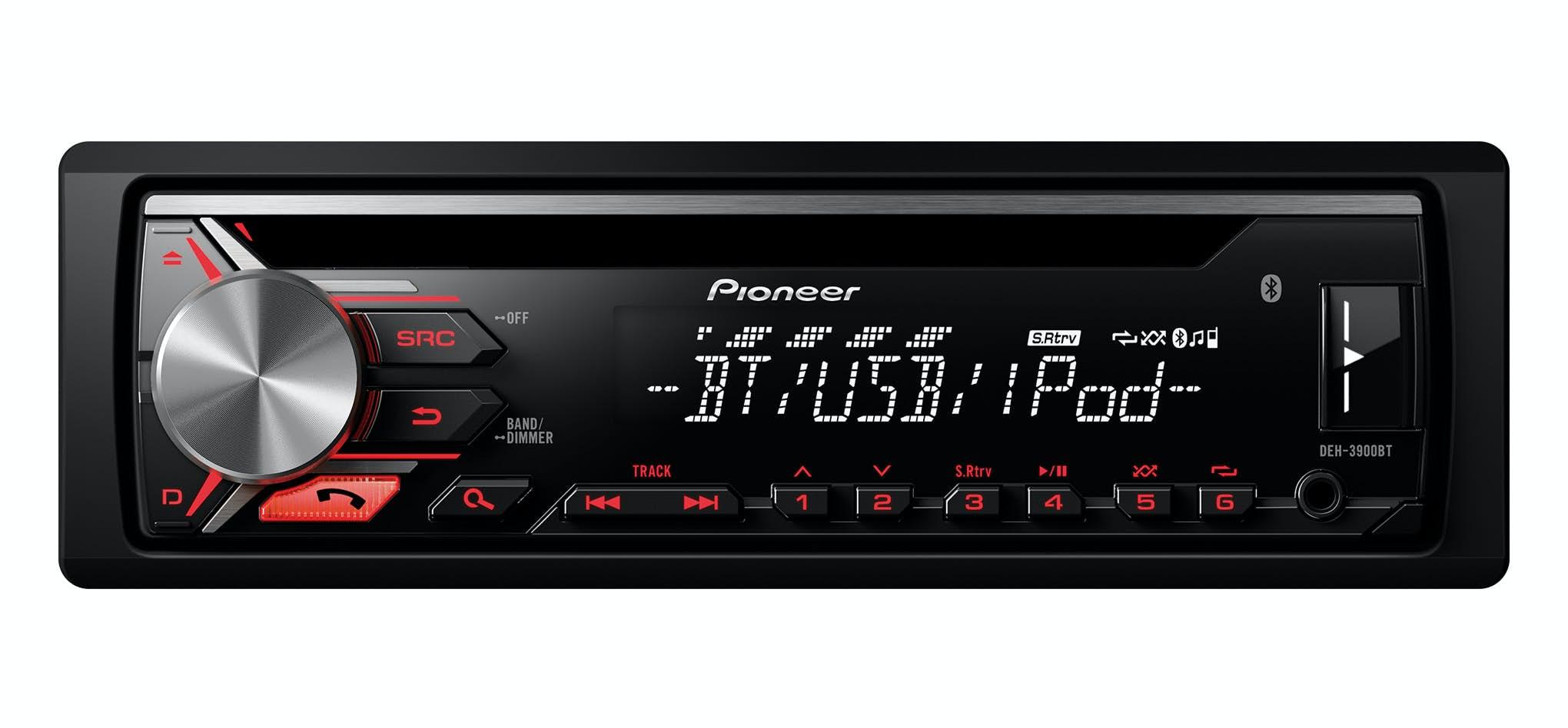Avtoradio Pioneer DEH-3900BT