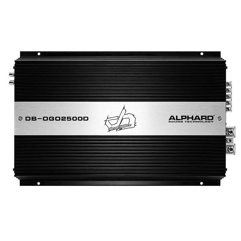Avtoojačevalec Deaf Bonce DB-OGO2500.1D (1-kanalni)