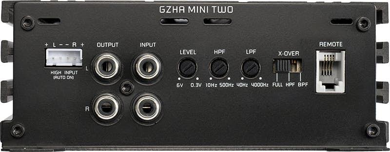 Avtoojačevalec Ground Zero GZHA Mini Two (2-kanalni)