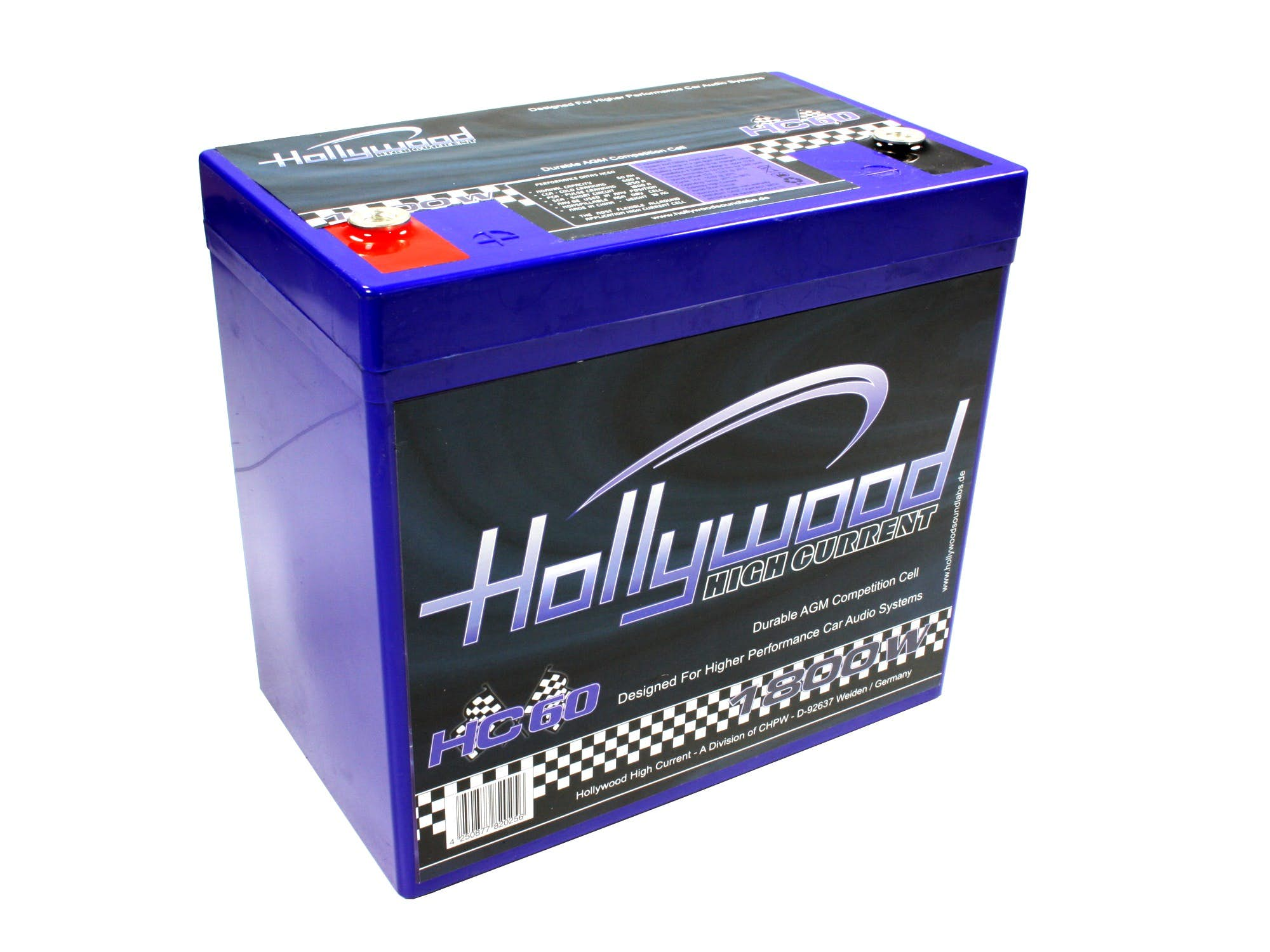 Akumulator Hollywood HIGH CURRENT HC-60 (60 Ah)