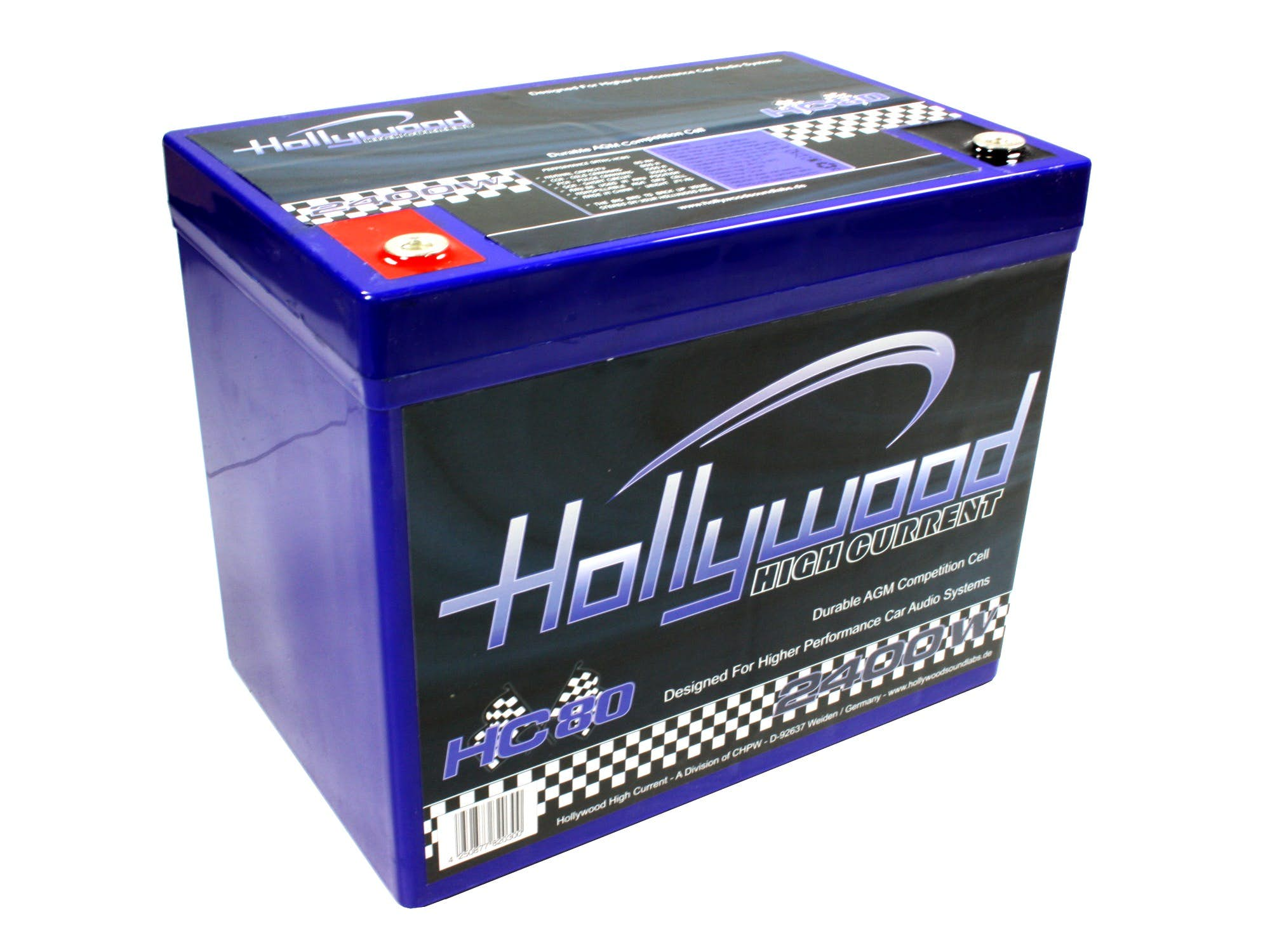 Akumulator Hollywood HIGH CURRENT HC-80 (80 Ah)