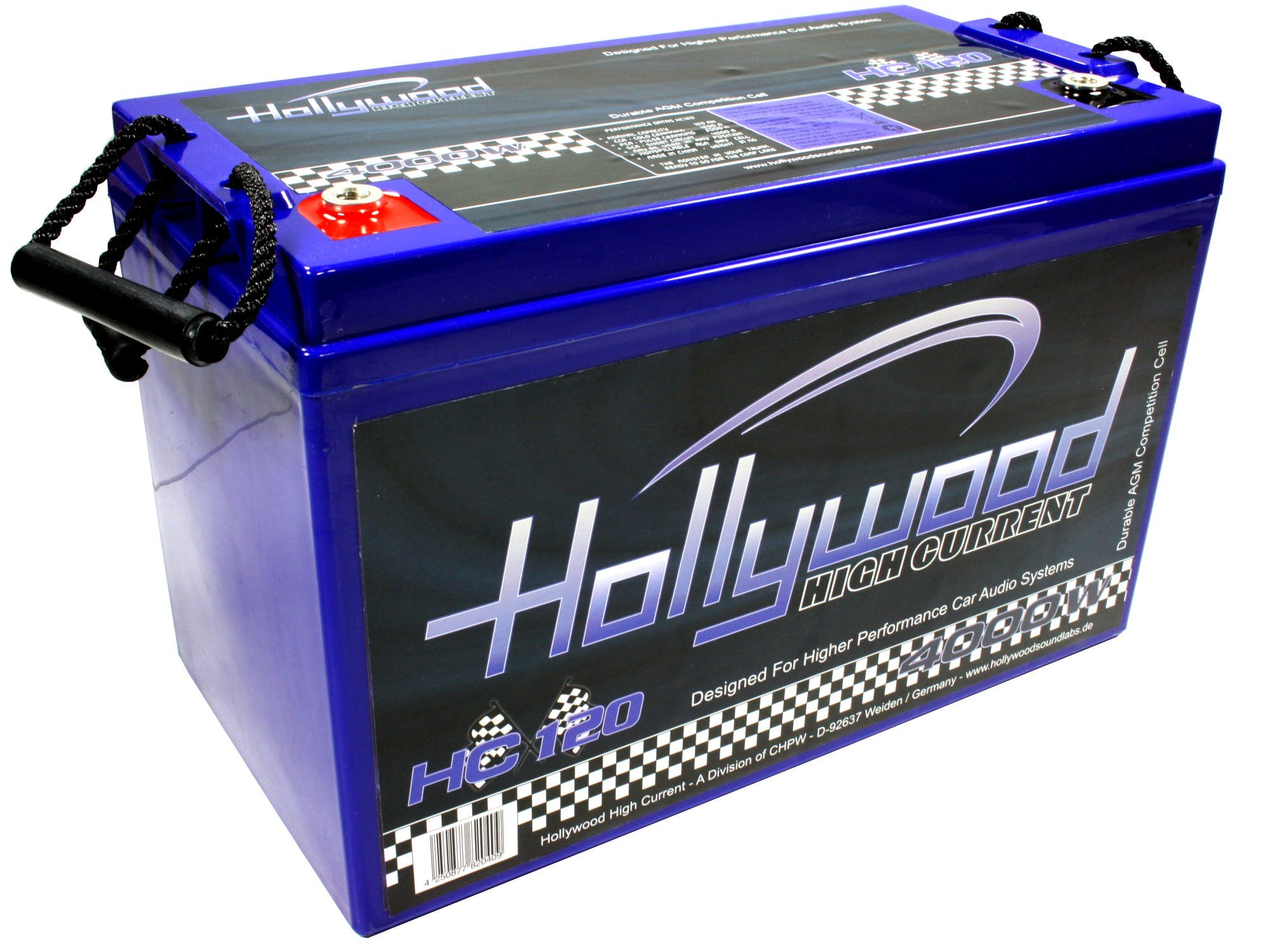 Akumulator Hollywood HIGH CURRENT HC-120 (120 Ah)