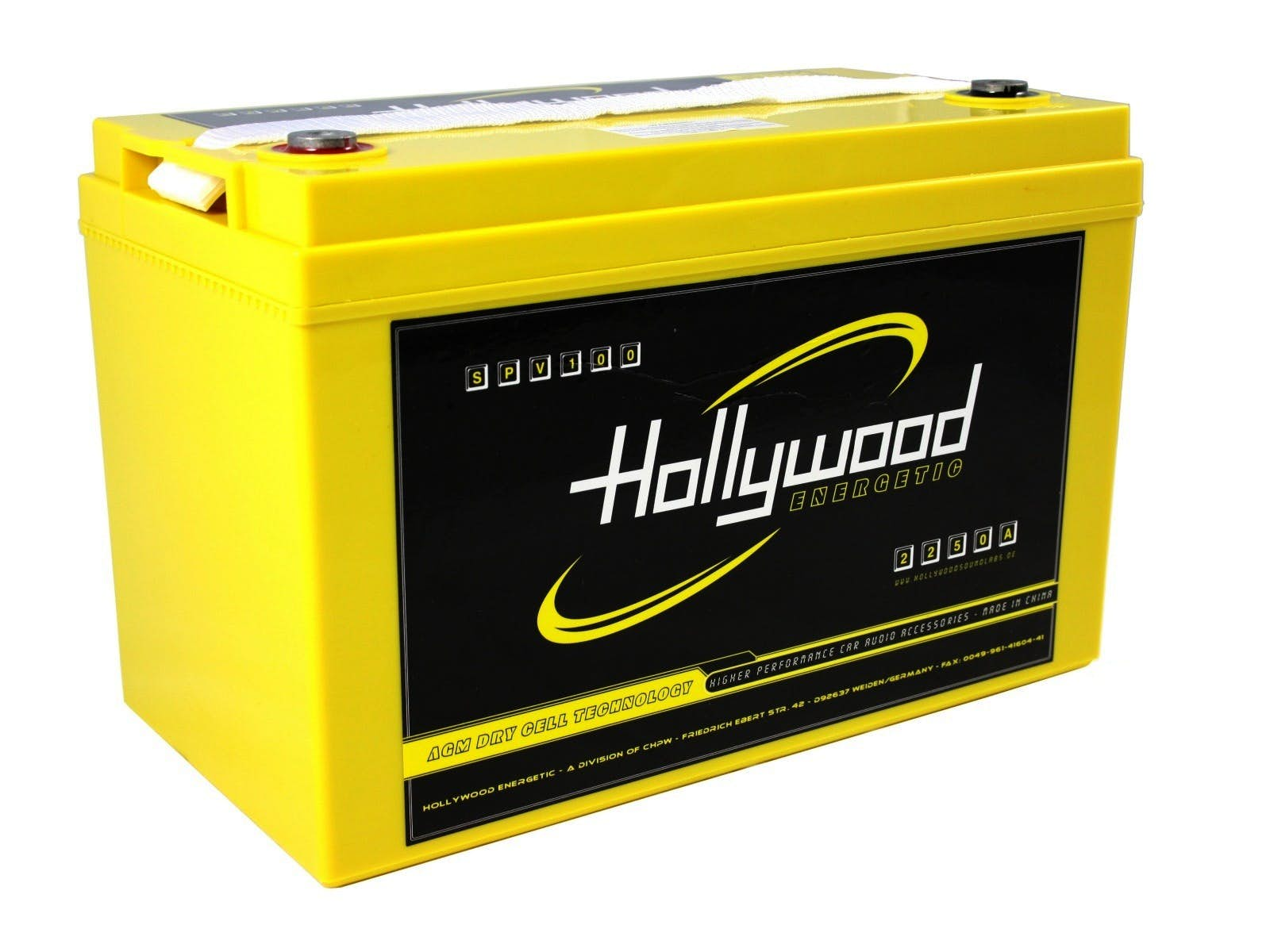 Akumulator Hollywood ENERGETIC SPV-100 (100 Ah)