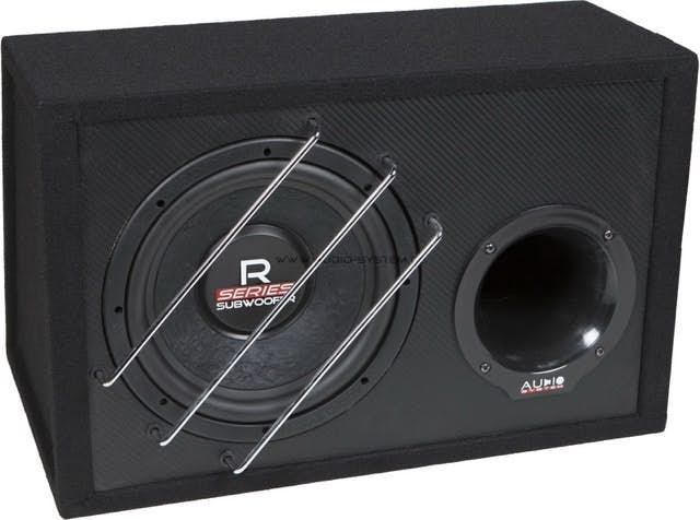 Nizkotonec v ohišju  Audio System R 10 BR