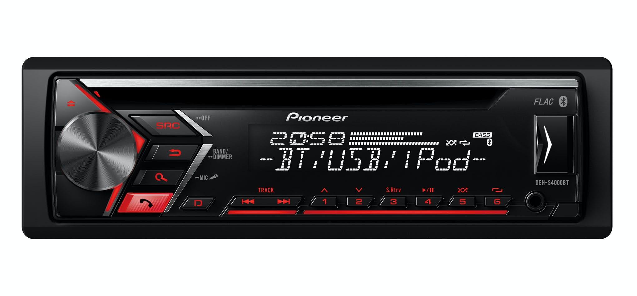Avtoradio Pioneer DEH-S4000BT