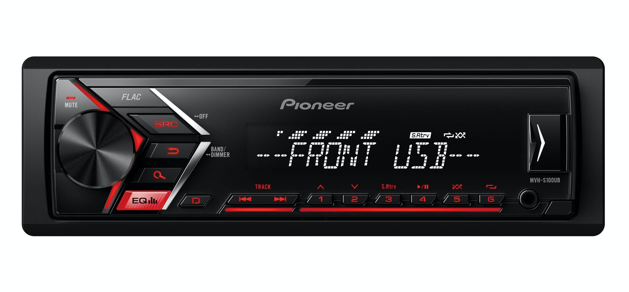 Avtoradio Pioneer MVH-S100UB