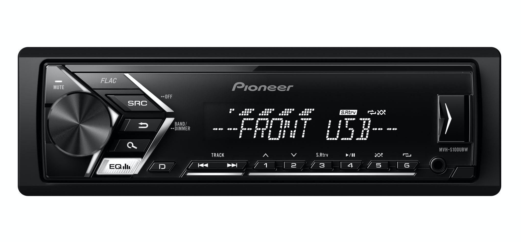 Avtoradio Pioneer MVH-S100UBW