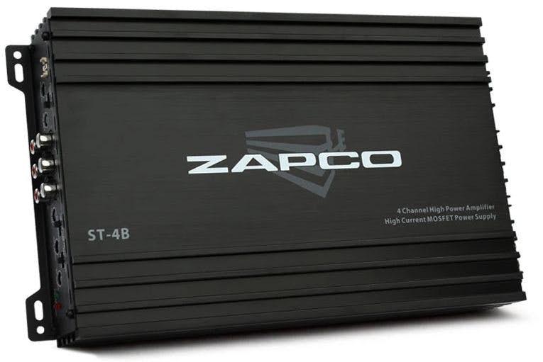 Avtoojačevalec Zapco ST-4B (4-kanalni)