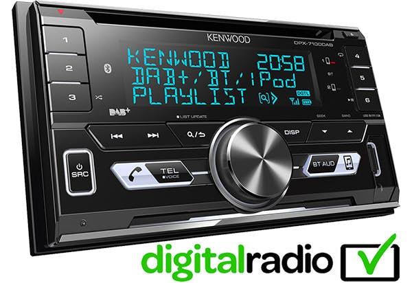 Avtoradio Kenwood DPX-7100DAB