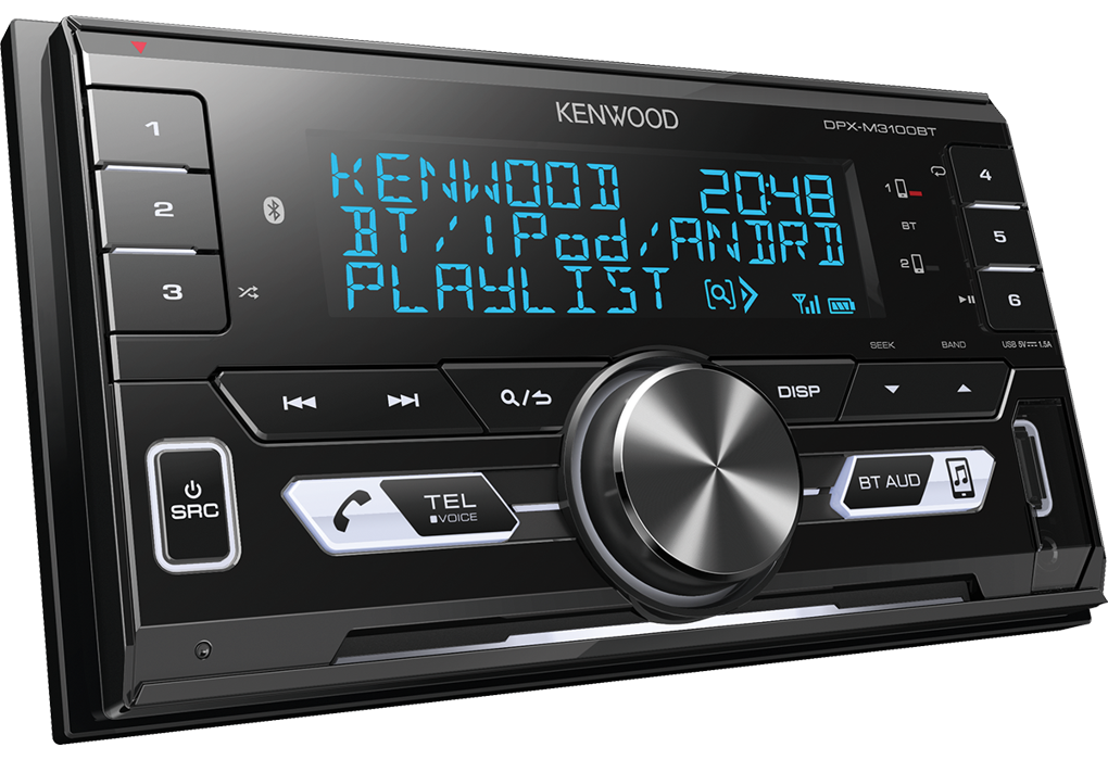 Avtoradio Kenwood DPX-M3100BT