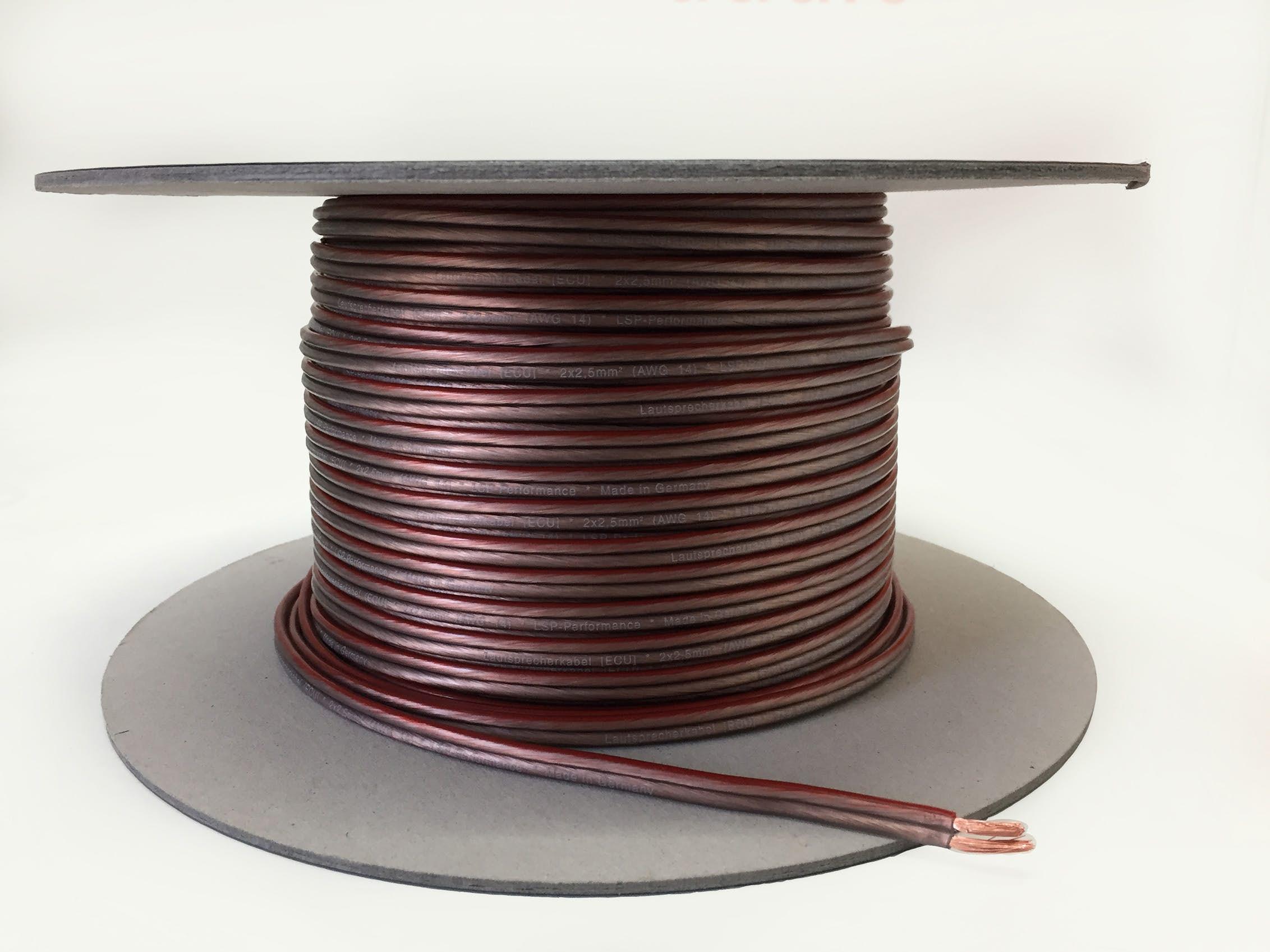 Zvočniški kabel 2 x 2,5 mm - High Quality OFC Copper