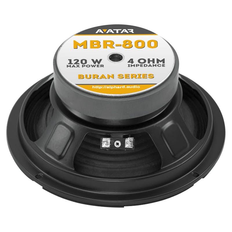Srednjetonci Avatar MBR-800 (4 Ohm)