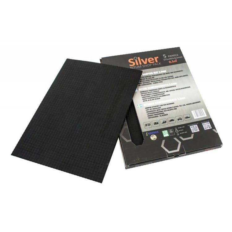 Izolacija STP Silver Bitum 3,5 mm (Shop pack - 5 kos)