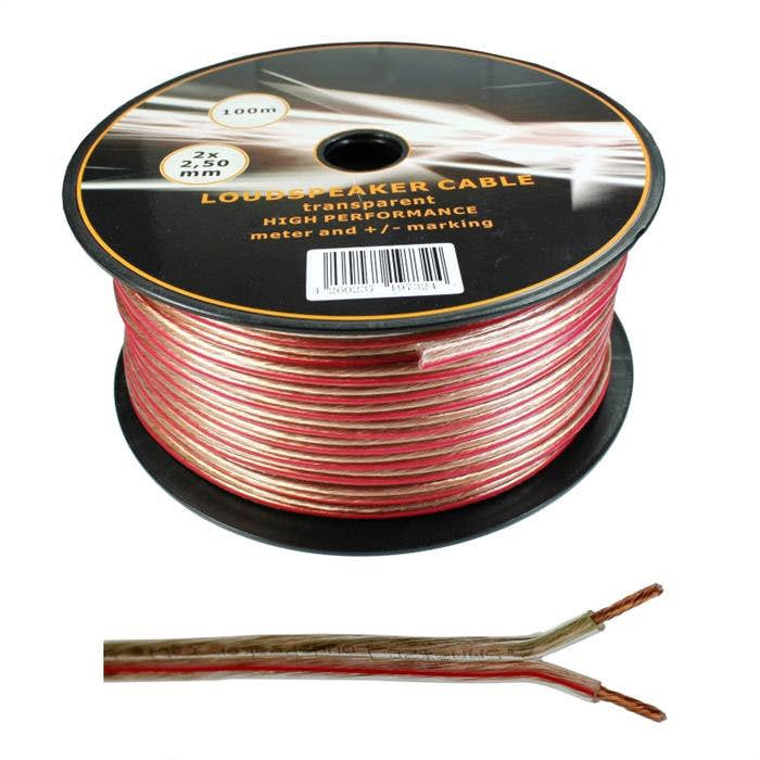 Zvočniški kabel 2 x 2,5 mm