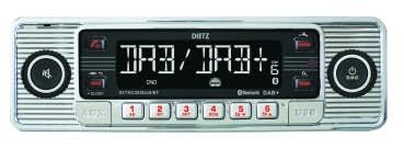 Avtoradio Dietz RETRO 300 DAB / BT