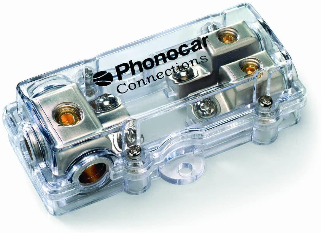 Razdelilni blok - Phonocar za dve mini-ANL varovalki
