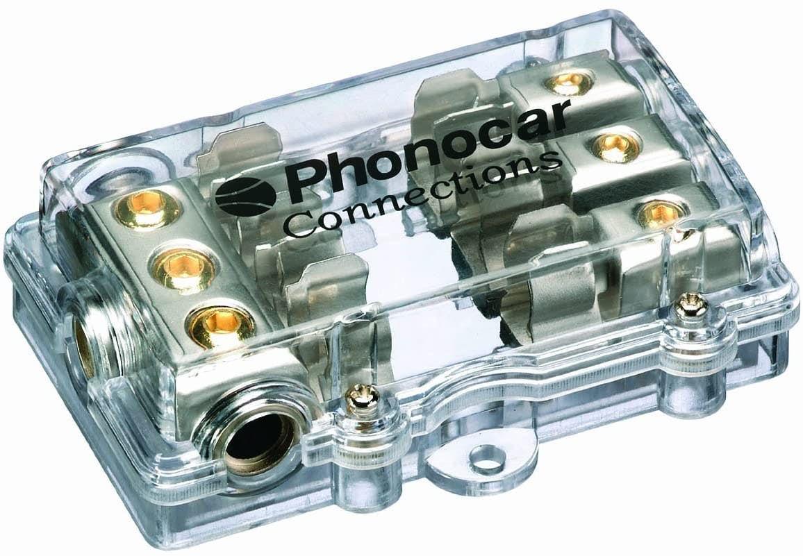 Razdelilni blok - Phonocar za tri cevne varovalke