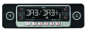 Avtoradio Dietz RETRO 301 DAB / BT