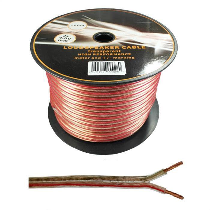 Zvočniški kabel 2 x 4,0 mm