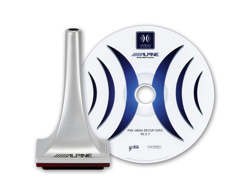 Oprema za nastavitev procesorja Alpine KTX-H100