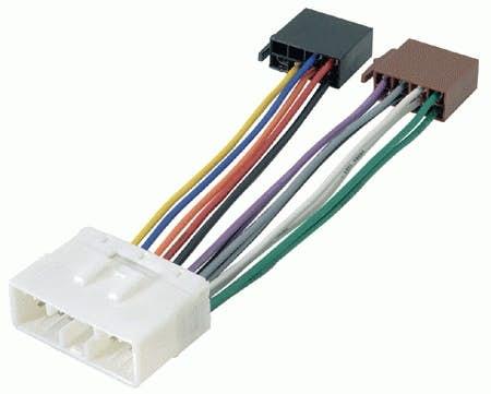 ISO konektor za Chevrolet Spark (2010 - 2012)